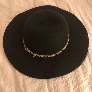Anthropologie Hatattack Wise Brim Wool Felt Hat